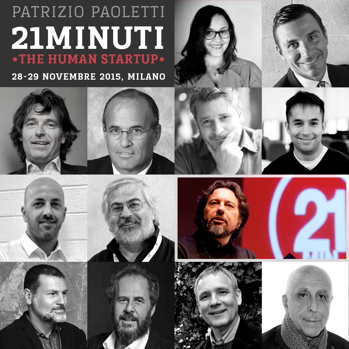 21 Minuti - The Human Startup
